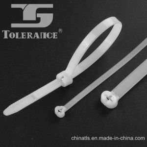 High Quality Stainless Steel Barb Nylon Cable Tie with Factory