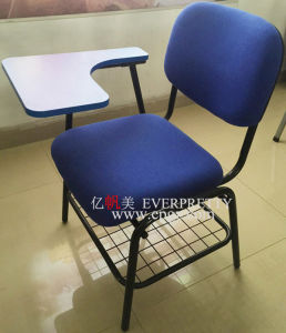 School Plastic Furniture Student Plastic Chairs with Mobile Nylon Base pictures & photos