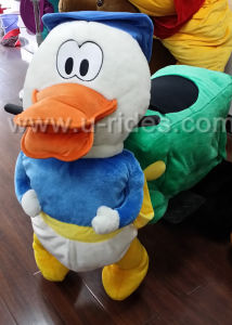 Coin Operated Duck Walking Animal Rides for Kids pictures & photos