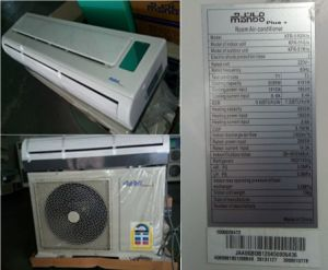 Split Wall Air Conditioner Cooling & Heating 17400BTU Home Air Conditioner pictures & photos
