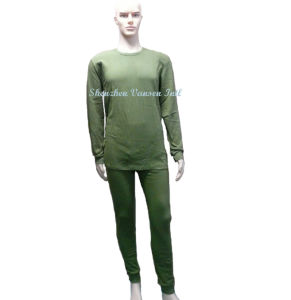 Heated Thermal Underpants in Olive Green pictures & photos
