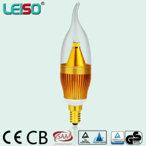 1900k CREE Chips PC>0.9 Dimmable CE ERP LED Candle Lamp pictures & photos