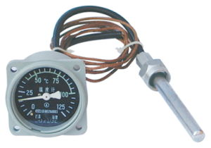 Distant Pressure Type Temperature Gauge for Ship