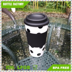 china personalized food safety plastic insulated mug coffee cup with