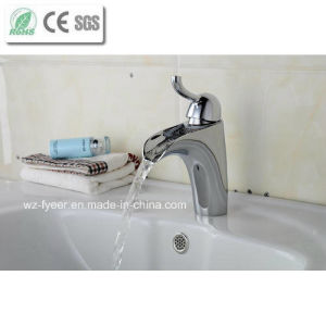 New Bathroom Tap Mixer Brass Basin Sink Faucet (Q210B) pictures & photos