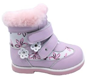 5daea1a37808 China Popular European Girls Latest Design Fashion Winter Leather Boots  Safety Orthopedic Shoes for Children - China Orthopedic Shoes for Children