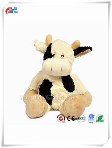 Baberoo Softest Stuffed Animal Plush Toy Cow Suitable for Babies and Children 10 Inches