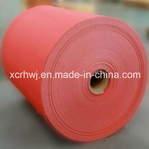 Electrical Insulation Vulcanized Fiber Sheet Parts, Cotton Vulcanized Fiber Paper Sheets, Red Electrical Insulating Vulcanized Fiber Paper Sheet for Die Cutting