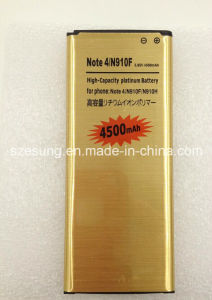 Galaxy Note4 N910 Battery High Capacity 4500mAh Gold Li-ion Battery for Samsung Galaxy Note