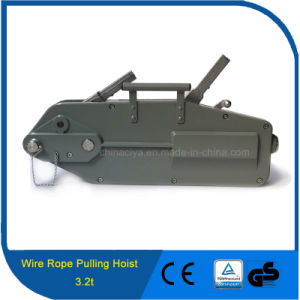 3.2t Construction Usage and Hand Power Source Wire Rope Winch