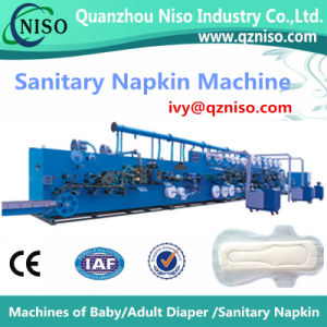 Semi Automatic Feminine Pads Machine Supplier From China (HY400) pictures & photos