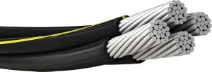ABC/AAC/AAAC/ACSR/Aerial Bundled Cable for Overhead Transmission and Distribution Line pictures & photos