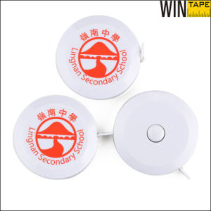 Round Retractable Precision Tape Measure for Hongkong Lingnan Sencondary School Souvenir (RT-155) pictures & photos