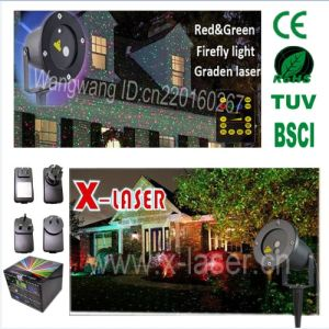 2016 New Outdoor Christamas Garden Laser Light with Ce RoHS pictures & photos