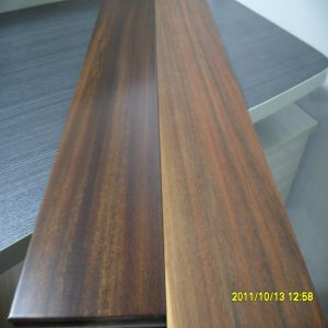 Prefinished Red Color Stain Ipe Hardwood Flooring
