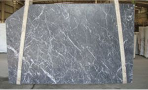 New Italy Grey Dark Marble Slabs for Flooring and Countertops pictures & photos