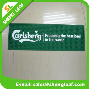 Personalized LED Logo Rubber PVC Bar Mat