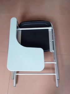 Leather School Student Foldable Training Furniture Chair pictures & photos