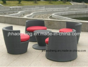 2014 Hot Sale Morden Design Wicker Rattan Vase Set