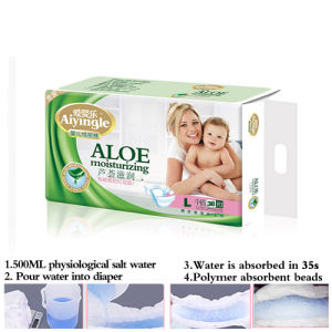 Diapers with Magic Elastic Sticker for Baby (L)