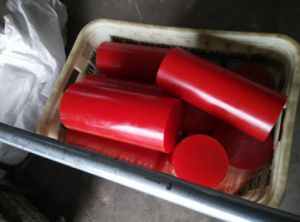 75-95shore a Red Polyurethane Rods, PU Rods, Polyurethane Bar, PU Bar, Plastic Bar pictures & photos