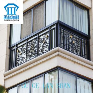 High Quality Wrought Zinc Steel Balcony Guardrail 027