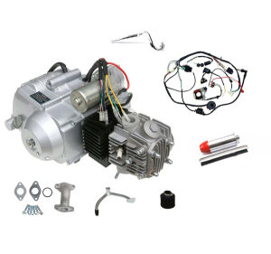 [Hot Item] 125cc Engine Kits Air Cooled 4 Stroke Engine Wiring Harness on