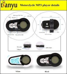 Motorcycle MP3 Audio with Bluetooth Function 512 pictures & photos