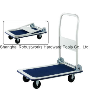 Foldable Platform Hand Trolley (HT043) pictures & photos
