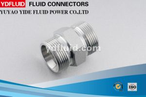 Straight Male Gas Oil Hydraulic Fitting Adapter pictures & photos