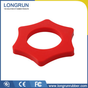 Customize Nr Sheet Disc Silicone Rubber Bushing pictures & photos