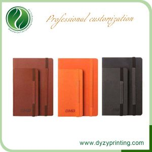 Hot Sale Custom PU Leather Stationery Notebook Printing