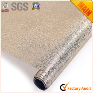 Metalic Film Golden Laminated Cloth pictures & photos