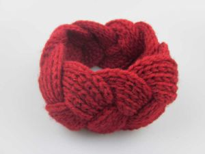 Women′s Wide Cable Knitted Headband Fashion Hair Accessories