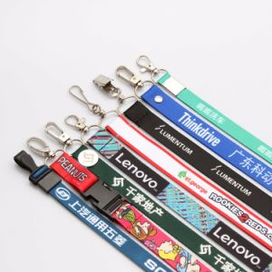 Personalized Printing Breakaway Safety Custom Lanyards for ID Badges pictures & photos