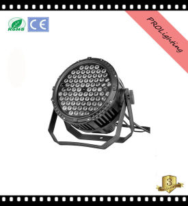 IP65 Waterproof High Brighness LED PAR Can Lights Outdoor Stage Lighting 84 * 3W Rgbwy 5-in-1