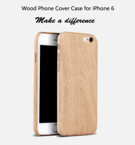 Wood Phone Cover Case for iPhone 6 pictures & photos