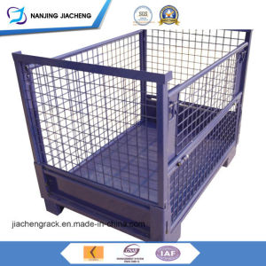 Storage Pallet Cage Type and Folding pictures & photos