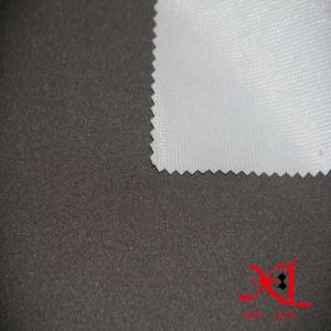 100% Polyester TPU Bonded Tricot Composite Fabric for Jacket/Windbreaker pictures & photos