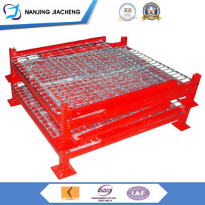 Steel Stackable Pallet/Custom Steel Storage Box/Wire Mesh Containers pictures & photos