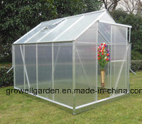 Aluminium Hobby Garden Greenhouse (SW608) pictures & photos