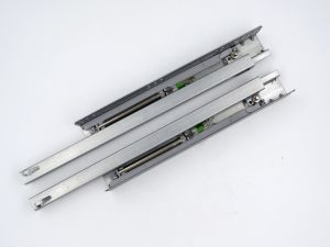 Two Fold Pin Mounting Soft Closing Hidden Telescopic Slide