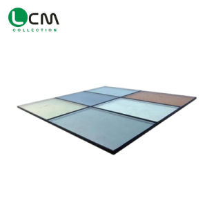 Heat Transfer Coefficient of Insulating Glass Construction Glass Wall Glass Building Glass