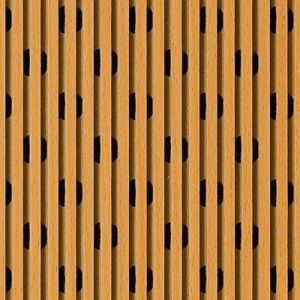 Wooden Grooved Acoustic Panel 6/2 pictures & photos