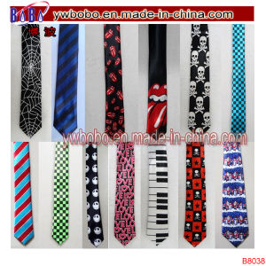 Men′s Neckwear Slim Skinny Satin Wedding Ties Work Tie (B8046) pictures & photos
