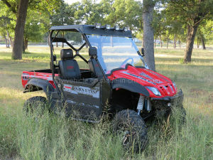 V800 V-Twin, Four-Stroke, Liquid-Cooled 800cc UTV with EPA EEC Certificate