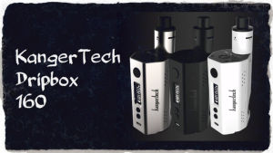 2017 Kanger Latest Dripbox 160 Electronic Cigarette Kit