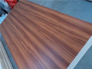 Azure Blue Face MDF, Color No.: 202, Size 120X2440mm, Thickness: as Your Order, Glue: E0, Zure Blue Paper MDF, Melamine MDF pictures & photos