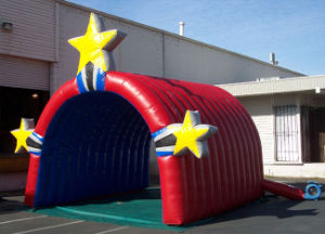 Hot Sell Inflatable Tent Inflatable Tunnel with Star