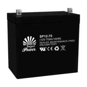 UPS Battery 12V 70ah with CE UL ISO9001 Certificated (SP12-70) pictures & photos